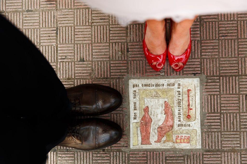 scarpe degli sposi