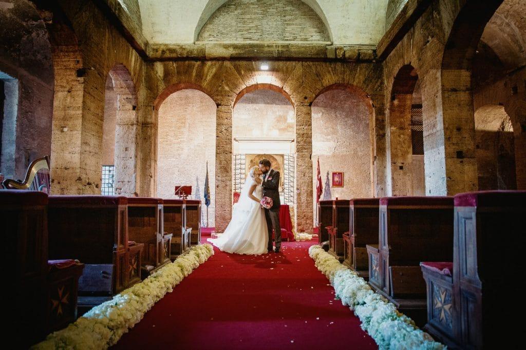 fotografo matrimonio villa miani ritratto sposi in chiesa