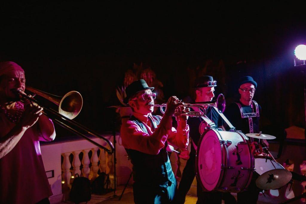 la banda musicale al matrimonio