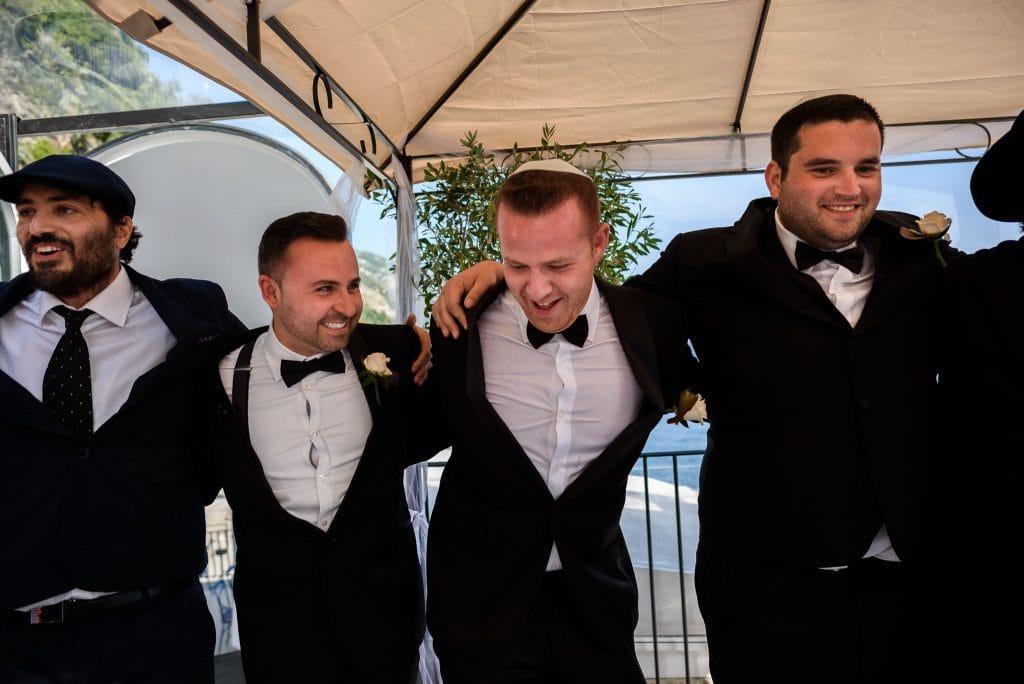 balli matrimonio ebraico durante la cerimonia