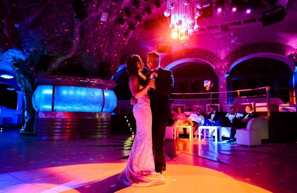 primo ballo sposi al rada di positano