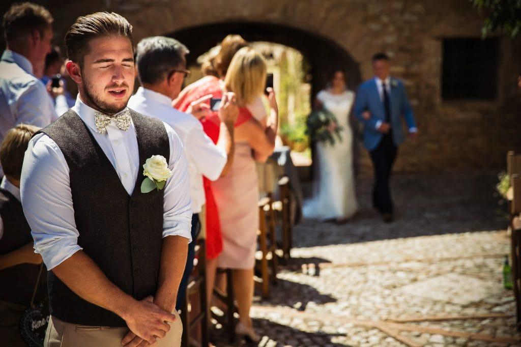 inizia il matrimonio al borgo della marmotta sta arrivando la sposa