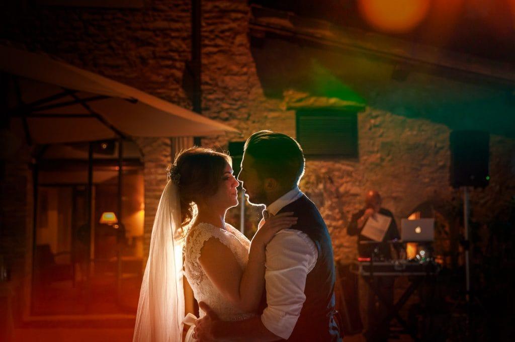 primo ballo degli sposi al matrimonio al borgo della marmotta