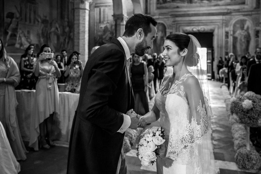 matrimonio a villa miani incontro tra gli sposi in chiesa