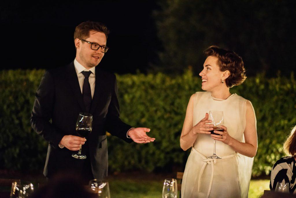 discorso dello sposo durante il matrimonio in toscana
