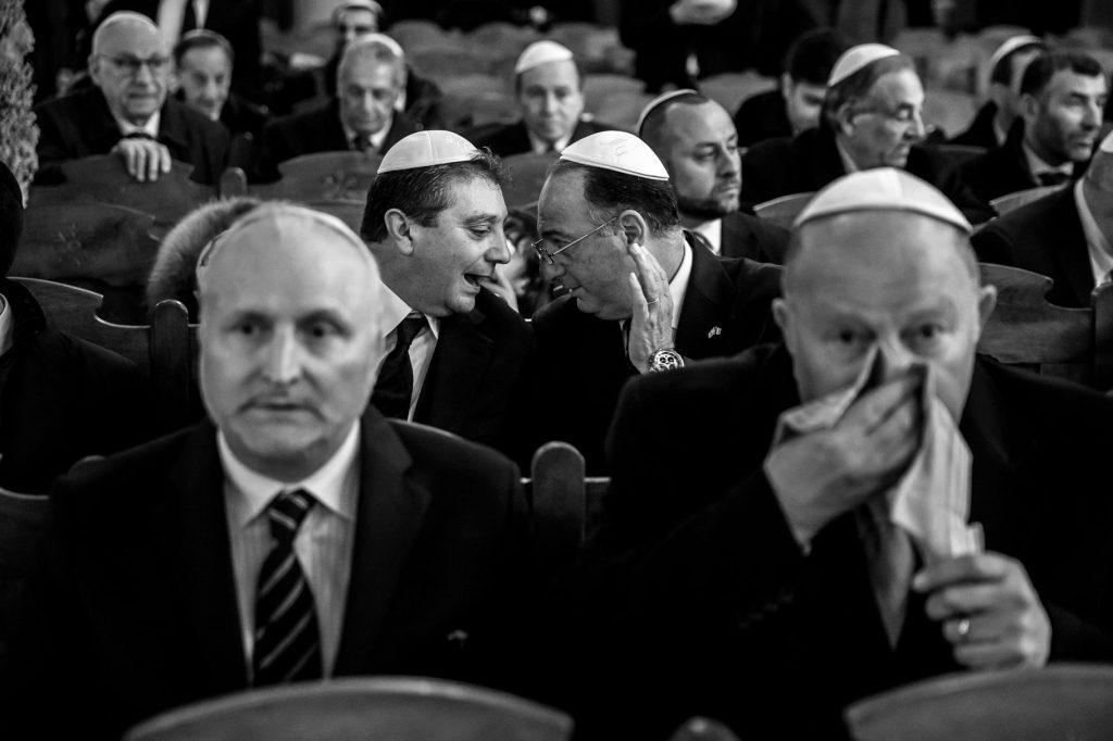 matrimonio ebraico a roma in sinagoga gli invitati