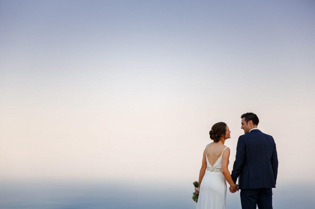 foto di ritratto degli sposi realizzata dal fotografo di matrimonio a ravello