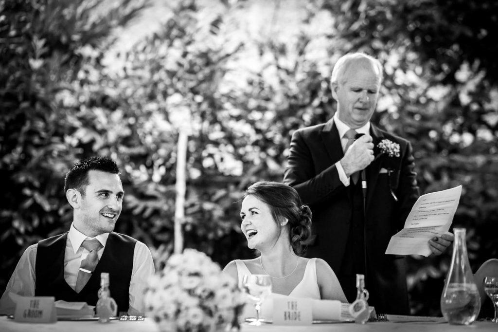 discorso del padre dello sposo durante il matrimonio a ravello