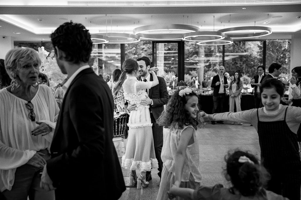 primo ballo degli sposi al Pavillon Royal Bois de Boulogne