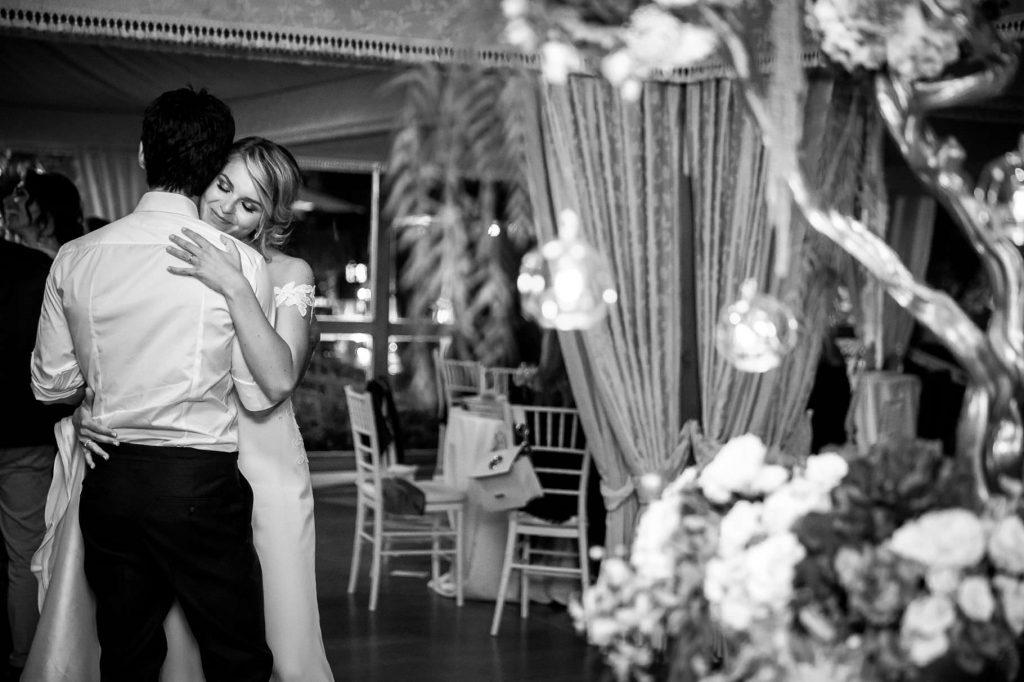 primo ballo degli sposi al matrimonio di kledi