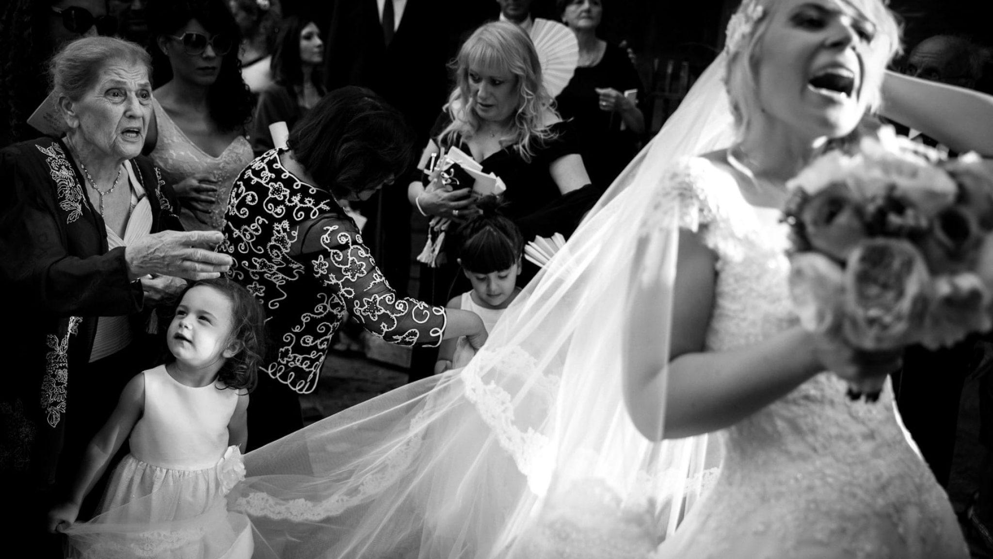 il velo della sposa
