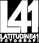 L41 logo bianco con scritta