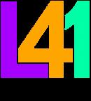 L41 logo colore con scritta